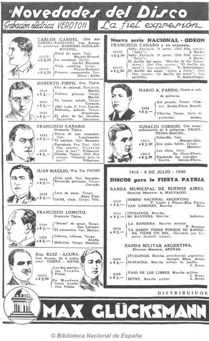 Caras y Caretas 5th of July 1930