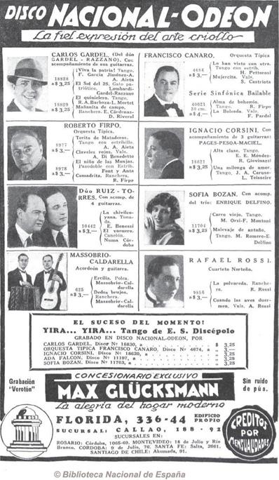 Caras y Caretas 15th of November 1930